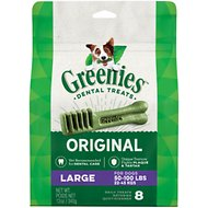 Greenies Large Dental Dog Treats, 8 count