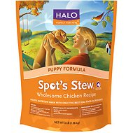 Halo Spot's Stew Wholesome Chicken Recipe Puppy Formula Dry Dog Food, 18-lb bag