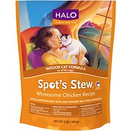 Halo Spot's Stew Wholesome Chicken Recipe Indoor Formula Dry Cat Food, 11.5-lb bag
