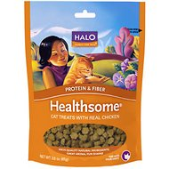Halo Healthsome Real Chicken Cat Treats, 3-oz