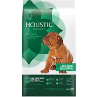 Holistic Select Large & Giant Breed Puppy Health Lamb Meal & Oatmeal Recipe Dry Dog Food, 30-lb bag