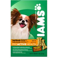 Iams ProActive Health Adult Small Biscuits Dog Treats, 4-lb box