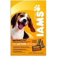 Iams ProActive Health Puppy Biscuits, 4-lb box