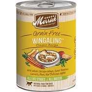 Merrick Classic Grain-Free Wingaling Recipe Canned Dog Food, 13.2-oz, case of 12