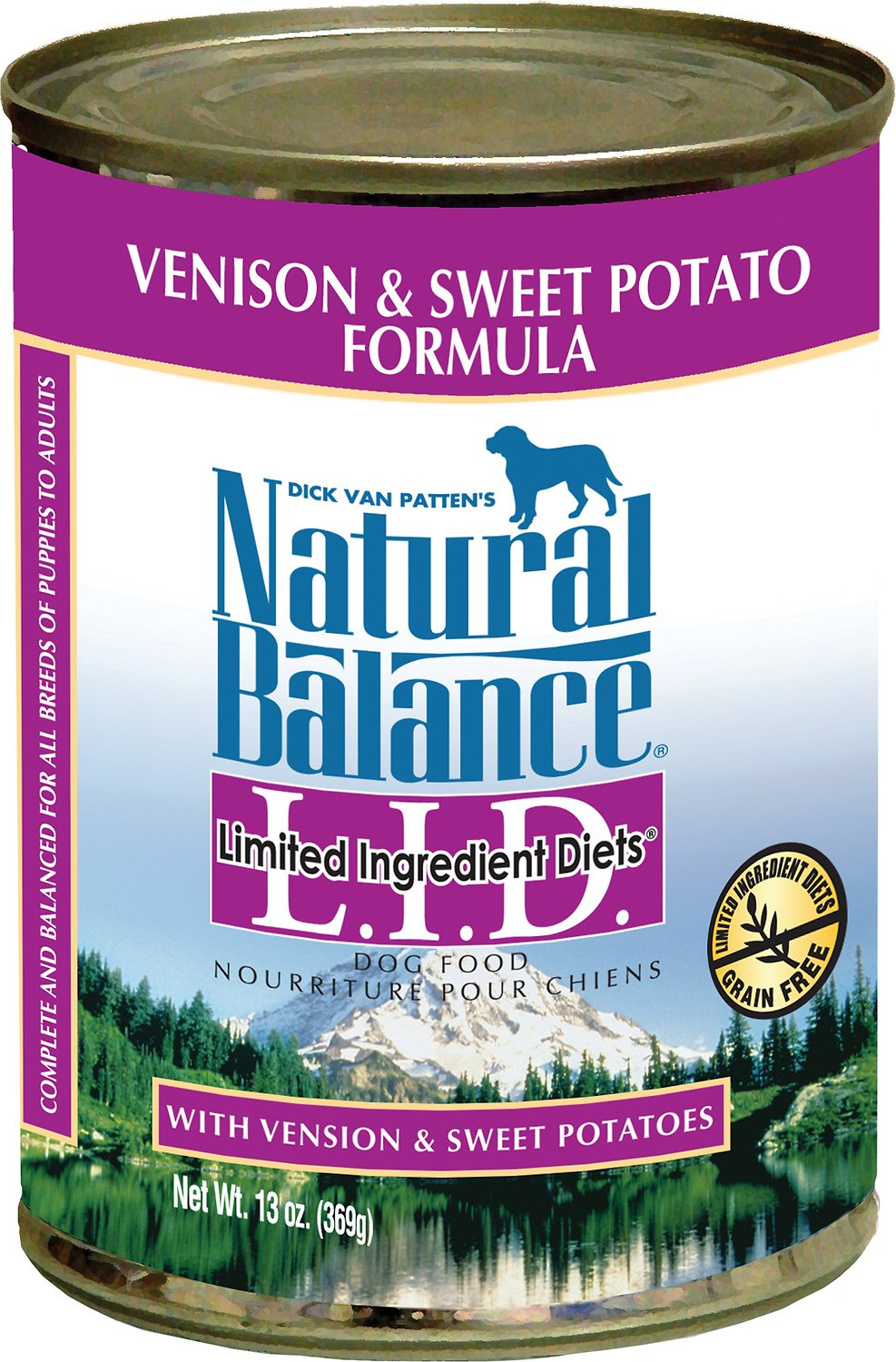 Natural Balance Venison Sweet Potato Canned Dog Food