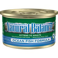 Natural Balance Ultra Premium Ocean Fish Formula Canned Cat Food, 3-oz, case of 24