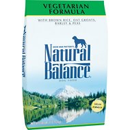 Natural Balance Vegetarian Formula Dry Dog Food, 28-lb bag