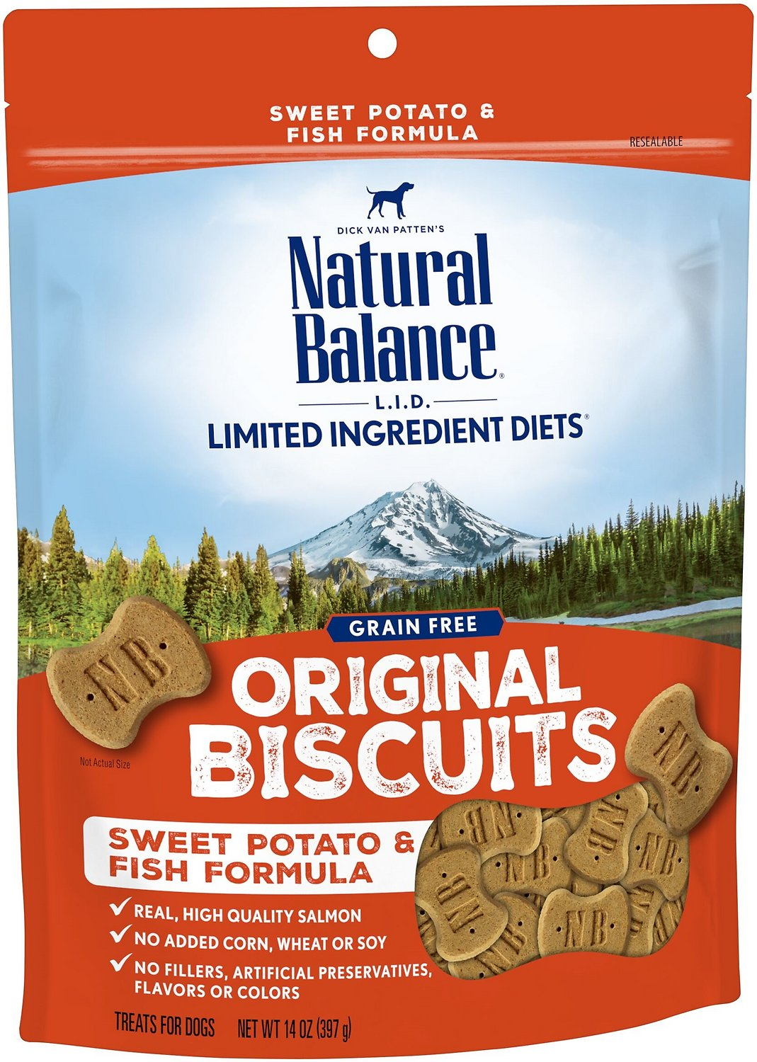 Natural balance l i t limited ingredient treats sweet for Natural balance sweet potato and fish