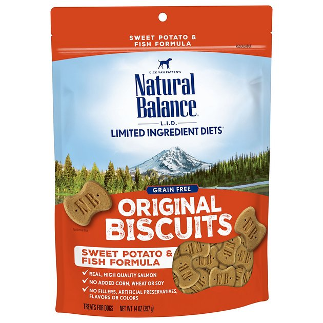 Natural balance l i t limited ingredient treats sweet for Natural balance fish and sweet potato