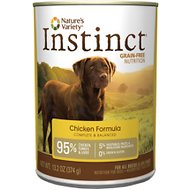 Nature's Variety Instinct Grain-Free Chicken Formula Canned Dog Food, 13.2-oz, case of 12