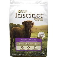 Nature's Variety Instinct Grain-Free Rabbit Meal Formula Dry Dog Food, 25.3-lb bag