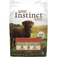 Nature's Variety Instinct Grain-Free Salmon Meal Formula Dry Dog Food, 25.3-lb bag