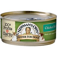 Newman's Own Organics Chicken Formula Canned Dog Food, 5.5-oz, case of 24