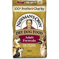 Newman's Own Organics Adult Formula Dry Dog Food, 25-lb bag