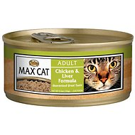 Nutro Max Adult Chicken & Liver Formula Canned Cat Food, 5.5-oz, case of 24