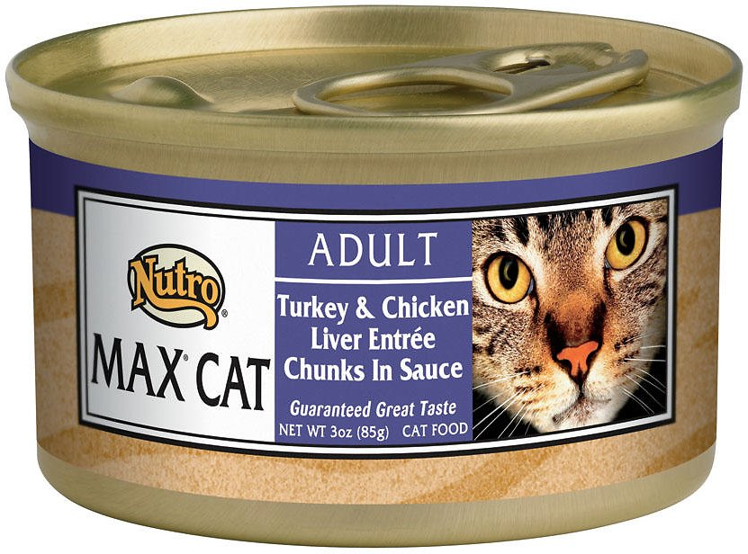 Nutro Max Adult Turkey Amp Chicken Liver Entree Chunks In