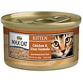 Nutro Max Kitten Chicken & Liver Formula Canned Cat Food