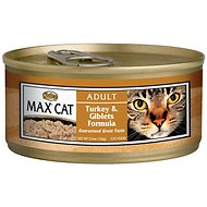 Nutro Max Adult Turkey & Giblets Formula Canned Cat Food, 5.5-oz, case of 24