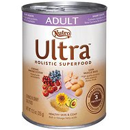 Nutro Ultra Adult Chunks in Gravy Canned Dog Food, 12.5-oz, case of 12