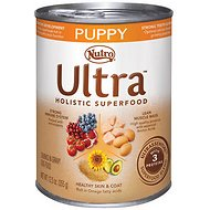 Nutro Ultra Puppy Chunks in Gravy Canned Dog Food, 12.5-oz, case of 12