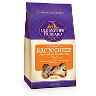 Old Mother Hubbard Classic Bac'N'Cheez Biscuits Baked Dog Treats, Small