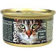 PetGuard Premium Feast Dinner Canned Cat Food, 3-oz, case of 24