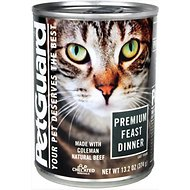 PetGuard Premium Feast Dinner Canned Cat Food, 13.2-oz, case of 12