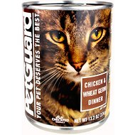 PetGuard Chicken & Wheat Germ Dinner Canned Cat Food, 13.2-oz, case of 12