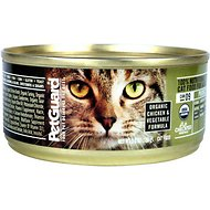 PetGuard Organic Chicken & Vegetable Formula Canned Cat Food, 5.5-oz, case of 24