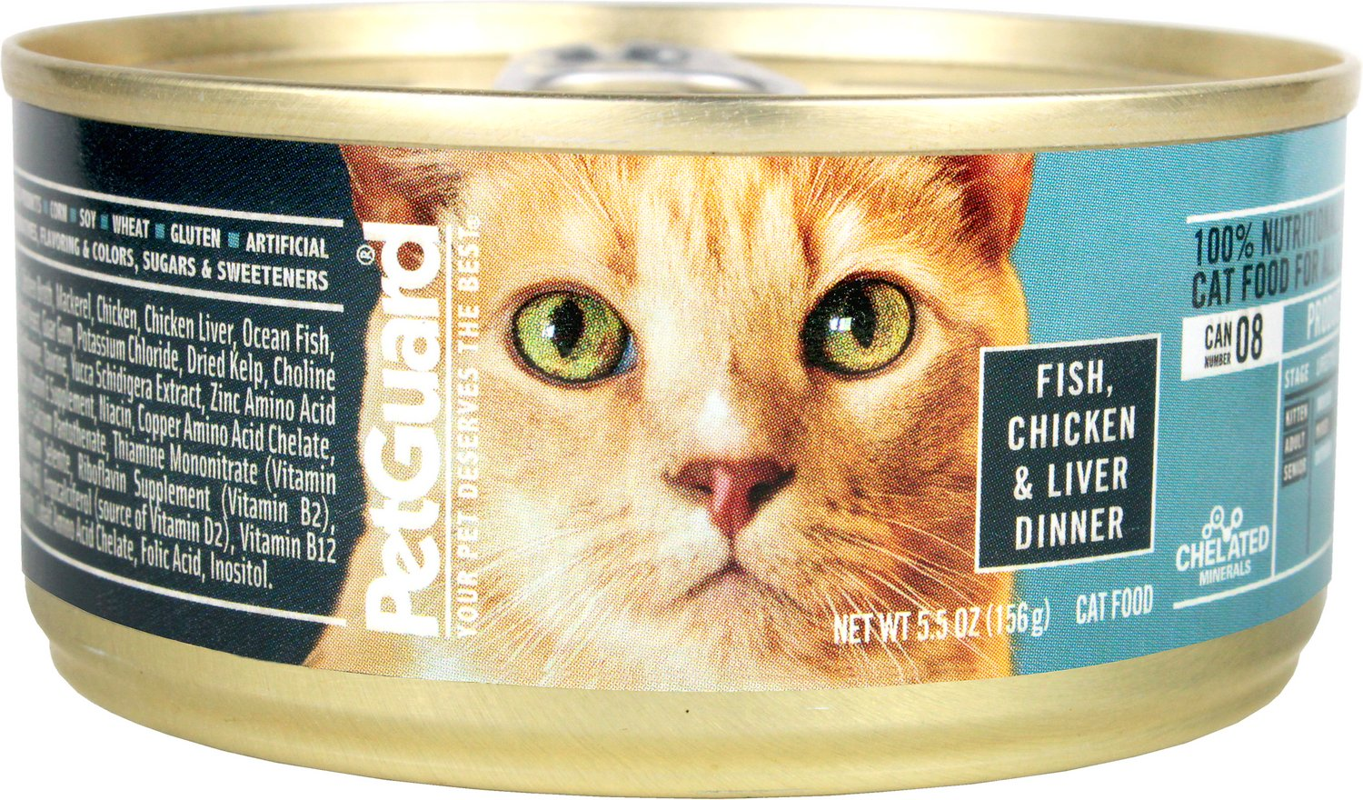 petguard mature cat food