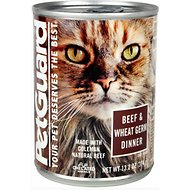 PetGuard Beef & Wheat Germ Dinner Canned Cat Food, 13.2-oz, case of 12