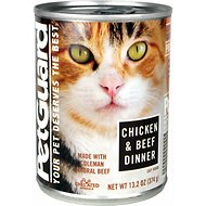 PetGuard Chicken & Beef Dinner Canned Cat Food, 13.2-oz, case of 12