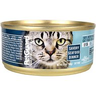 PetGuard Savory Seafood Dinner Canned Cat Food, 5.5-oz, case of 24