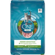 Purina ONE Indoor Advantage Adult Premium Dry Cat Food, 16-lb bag