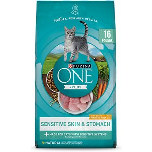 Purina ONE Sensitive Skin Stomach Dry Food