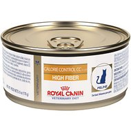 Royal Canin Veterinary Diet Calorie Control CC High Fiber Formula Canned Cat Food, 6-oz, case of 24