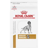 Royal Canin Veterinary Diet Urinary UC Low Purine Dry Dog Food, 18-lb bag