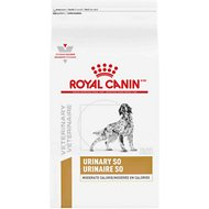 Royal Canin Veterinary Diet Urinary SO Moderate Calorie Dry Dog Food, 17.6-lb bag