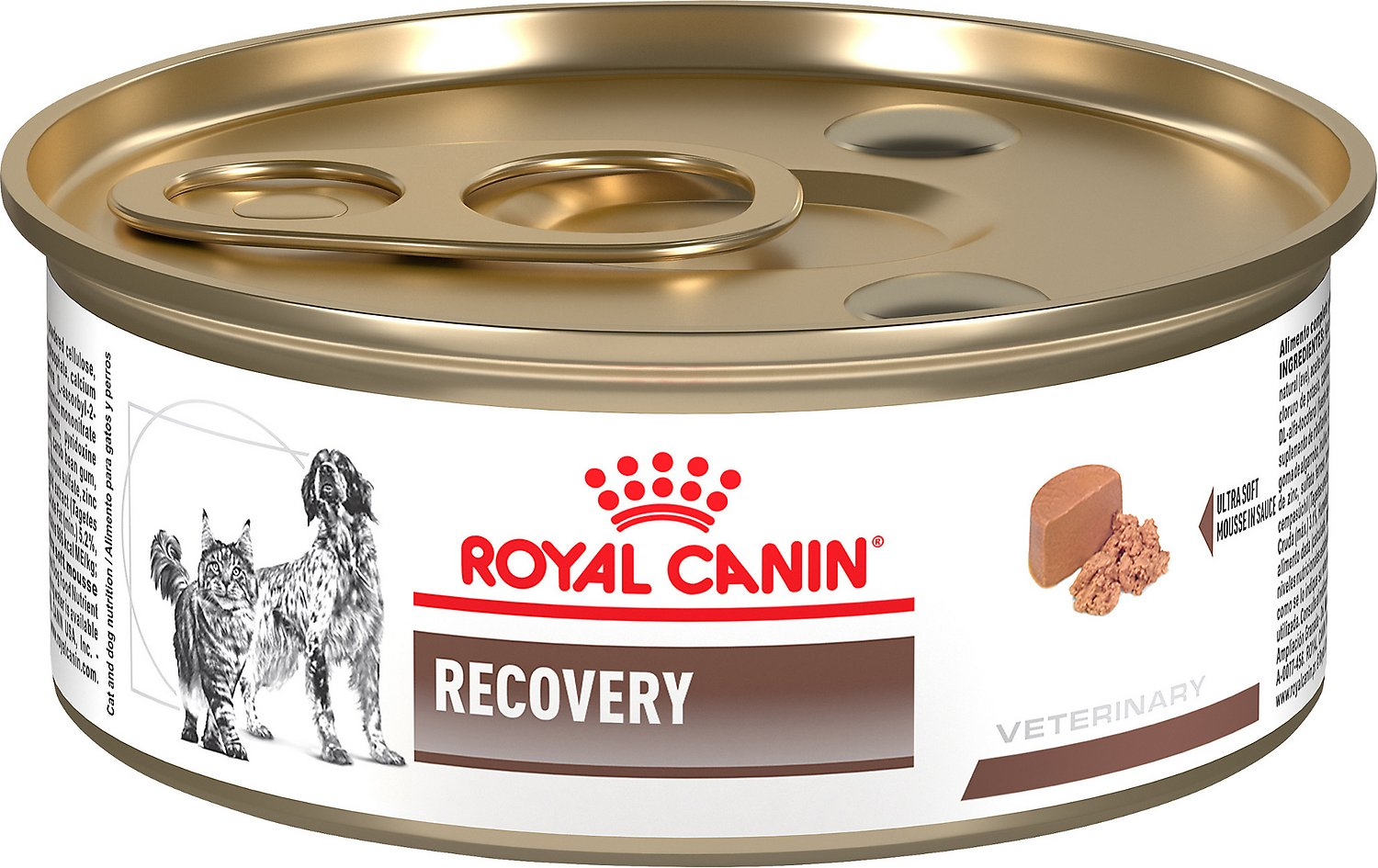 royal canin veterinary diet recovery rs canned dog cat food 5 8 oz case of 24. Black Bedroom Furniture Sets. Home Design Ideas