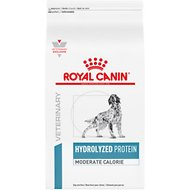 Royal Canin Veterinary Diet Hydrolyzed Protein Moderate Calorie Dry Dog Food, 7.7-lb bag