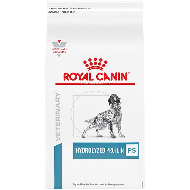 royal canin hypoallergenic  Royal Canin Veterinary Diet Hydrolyzed Protein Adult PS Dry Dog Food ...