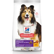 Hill's Science Diet Adult Sensitive Stomach & Skin Dry Dog Food, 15.5-lb bag