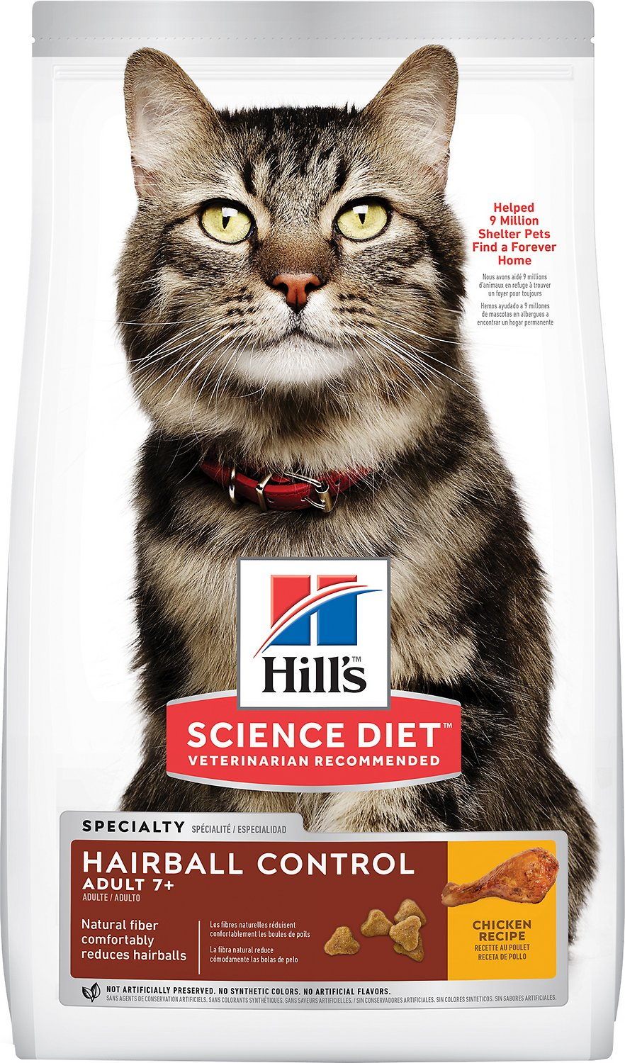 Science Diet Cat Food Hairball Control