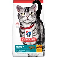 Hill's Science Diet Adult Indoor Cat Dry Cat Food, 15.5-lb bag