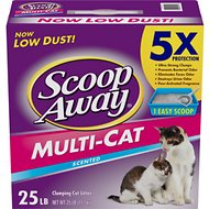 Scoop Away Multiple Cat Formula Litter, 25-lb box