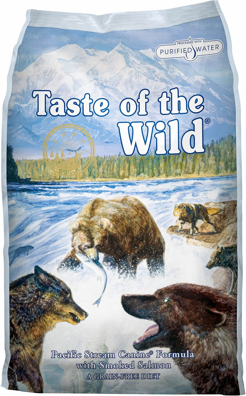Taste Of The Wild Dog Food Reviews >> Taste of the Wild Pacific Stream Grain-Free Dry Dog Food ...