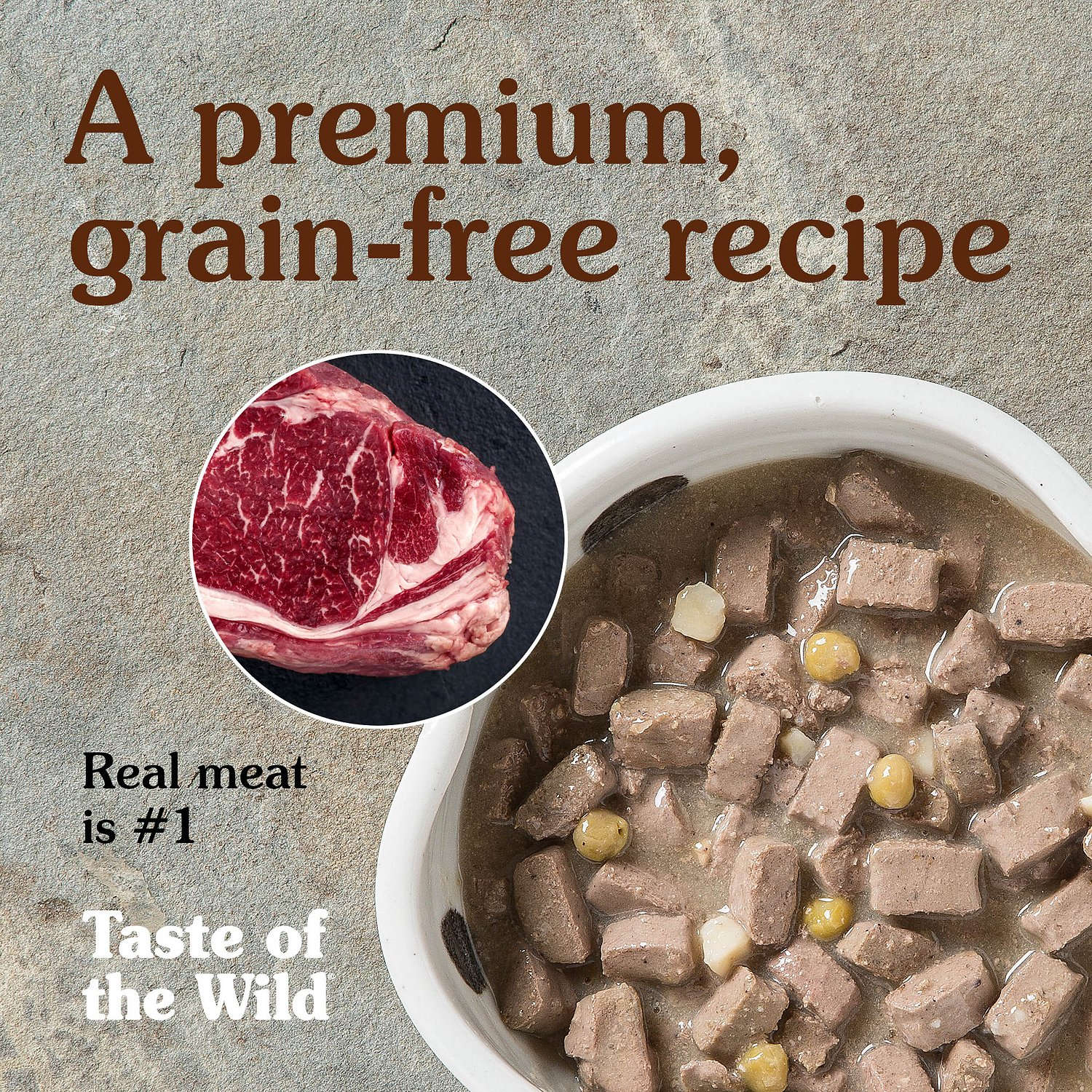 Taste Of The Wild Grain Free Canned Dog