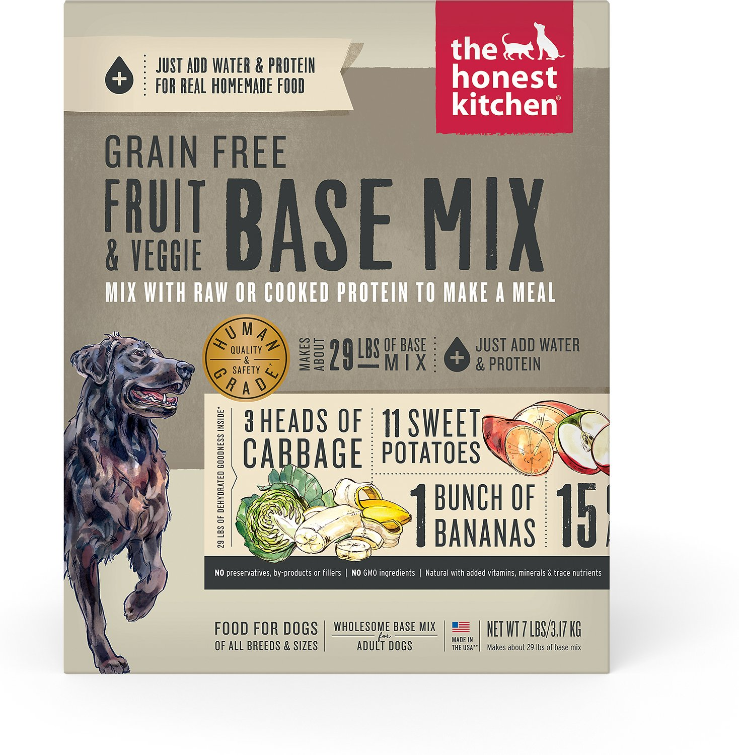 the honest kitchen preference grain-free dehydrated dog base mix