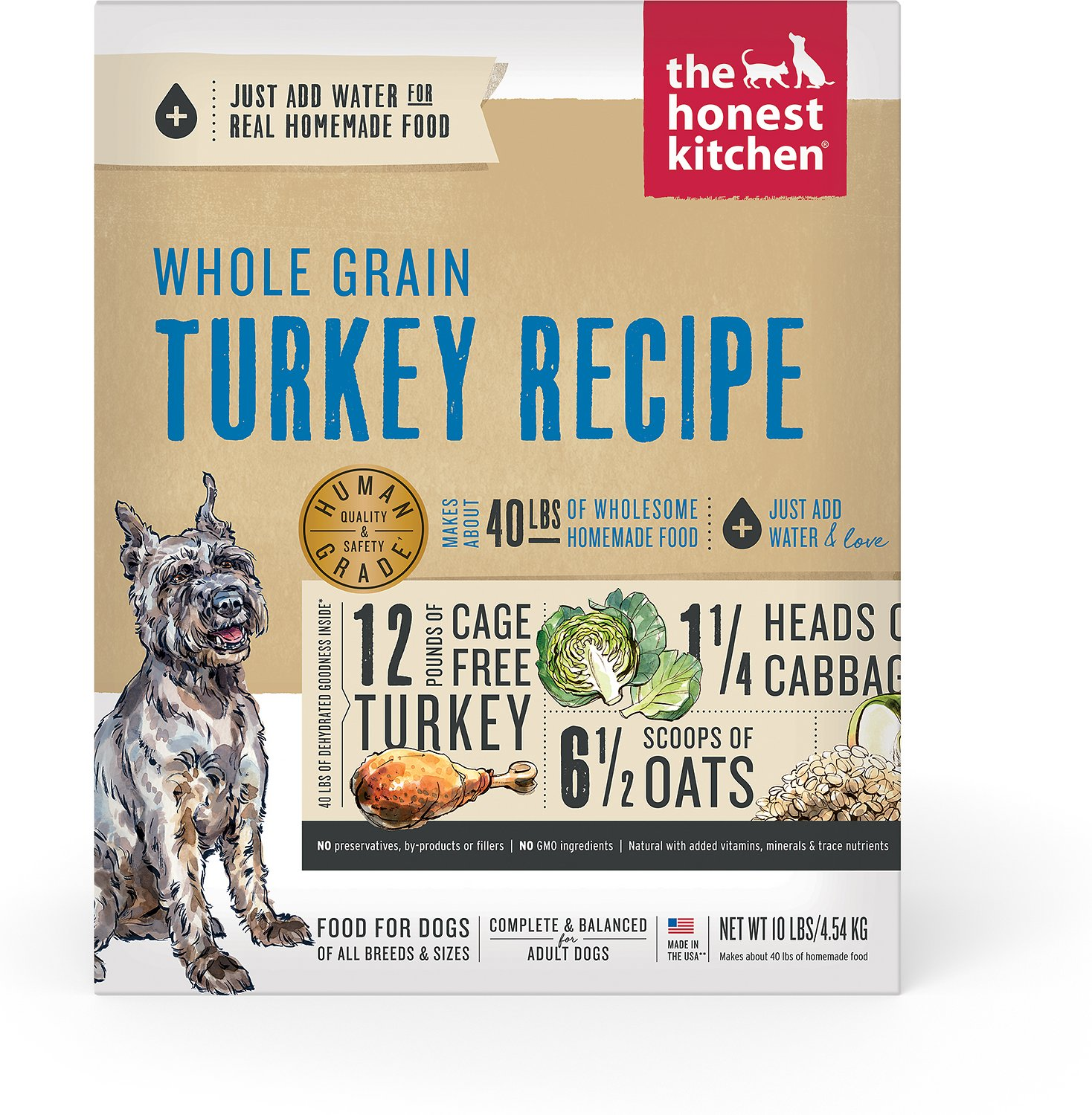 the honest kitchen keen dehydrated dog food 10 lb box chewy