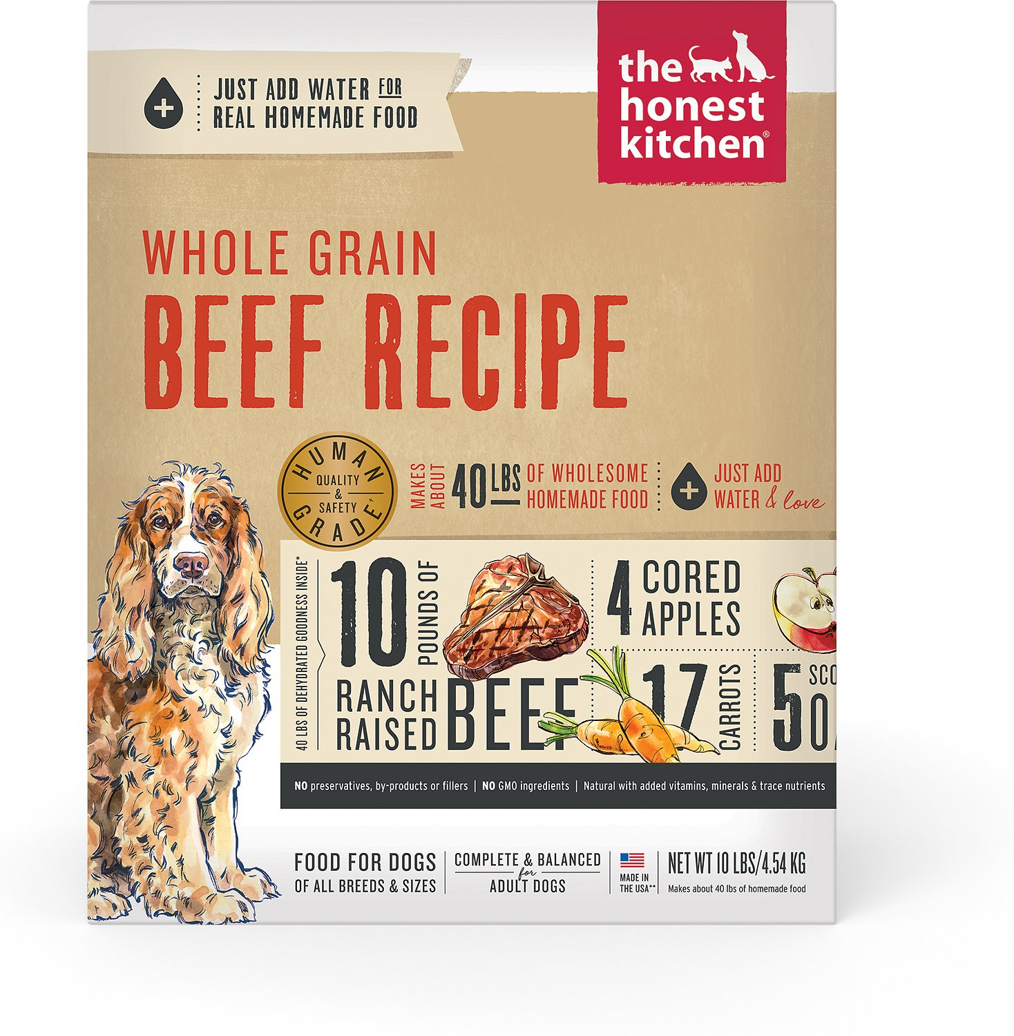 The Honest Kitchen Verve Dehydrated Dog Food Lb Box Chewycom - Honest kitchen dog food